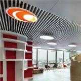 Plafond en aluminium de cloison d'extrusion de qualité pour l'intérieur et l'usage extérieur