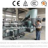Máquina de pelletización de reciclado de plástico de residuos para correas médicas TPE