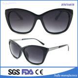 2017 occhiali da sole di plastica di protezione di promozione UV400 delle signore alla moda