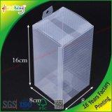 Casella stampata dell'animale domestico di imballaggio di plastica di colore per il marchio di abitudine della cassa del telefono delle cellule