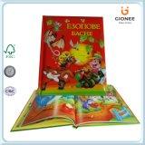 Impresión modificada para requisitos particulares del libro de la historia del Hardcover de los niños