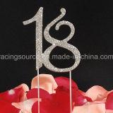Sparkly годовщина дня рождения экстракласса торта венчания номера сбор винограда