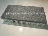 la pierre normale de granit de 4-5mm a collé avec des panneaux de nid d'abeilles de fibre de verre pour des façades de mur extérieur