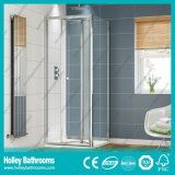 Het Aluminium die van de douche Deur Pivor met Aangemaakt Gelamineerd Glas (SE920C) vouwen