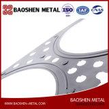Metal de folha personalizado que carimba as peças de maquinaria da fabricação com carimbo, dobrando-se, solda, perfurando