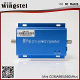 Répéteur mobile de signal de bande simple de répéteur de CDMA 850MHz
