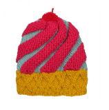 Winter-Hut-Acryljacquardwebstuhlbeanie-Hutkundenspezifischer Knit-HutPOM POM Beanie-Hut