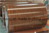 Folha ondulada de aço galvanizada Prepainted aço da telhadura do metal
