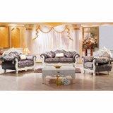 El sofá de madera fijó para los muebles de la sala de estar (929D)