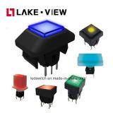 tipo interno interruptor iluminado do diodo emissor de luz de 6*6mm do tacto