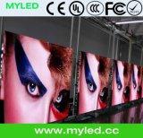 Schermo esterno della visualizzazione di LED di HD P4.81 SMD LED/servizio locativo di assicurazione di commercio della visualizzazione di LED