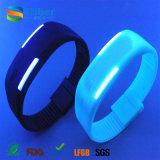 Vigilanza personalizzata promozionale del silicone di marchio LED