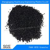Glace de PA66 25% - granules de fibre pour le panneau isolant
