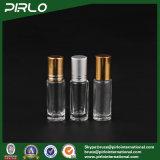 5ml rimuovono il rullo cosmetico di lusso del deodorante sulla bottiglia di vetro del profumo con la protezione del metallo
