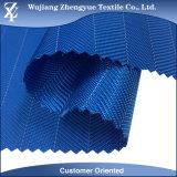 La PU cubrió la tela Herringbone 100% de Oxford del telar jacquar del poliester para el bolso