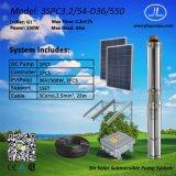 3inch pompa solare centrifuga, sistema di pompaggio di CC di irrigazione 550W