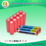 (QSD-Y0013) bateria China do Li-íon de 3.2V 1000mAh 18650