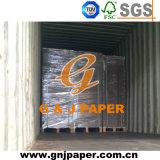 Papier de panneau gris de puce de pâte de bois dans la vente en gros de feuille