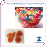 Chinesische Gelee-Süßigkeit-Beschichtung-Maschinen-Gelee-Süßigkeit-abgebende Zeile