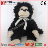 安い詰められたおもちゃ動物の黒い猿