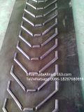 Banda transportadora de goma modelada alta calidad de /Chevron