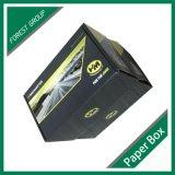 Caixa ondulada de empacotamento personalizada da caixa da cor