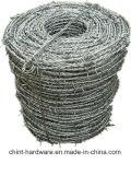 2 fili 4 punti del filo che recinta il PVC hanno ricoperto la bobina del filo