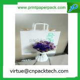 Подгонянный мешок руки бумаги Kraft подарка бумаги высокого качества печатание