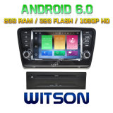 Automobile DVD del Android 6.0 di memoria di Witson otto per Skoda Octavia 2013