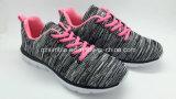 Los zapatos ligeros más nuevos de los deportes de las mujeres de los hombres con Flyknit