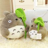채워진 도매 증명서는 귀여운 동물성 베개 견면 벨벳 장난감을