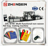 Saco de compra não tecido Pessoa-Querido que faz a máquina Zxl-B700