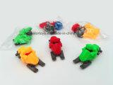 Moto de glissement dans le champ de neige du jouet d'Assemblée de DIY pour des enfants