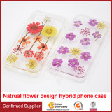 Lovely Real Dry Flower Soft TPU Cell Phone Case Cellular Case