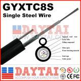 Antenne câble fibre optique mode multi/unitaire de GYTA53 souterrain