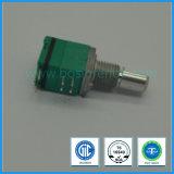 potentiomètre rotatoire de 9mm avec le commutateur