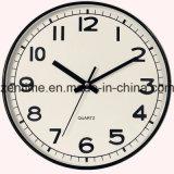 Horloge en plastique de Hunging de mur pour la décoration à la maison