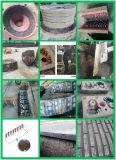 複合材料のチタニウムの合金そして高いマンガン鋼鉄はめ込まれた融合、Ticの挿入