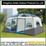 [210ت] [ريبستوب] بوليستر يمتلك تفتة سقف أسرة اثنان غرفة خيمة