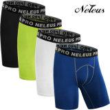 Pantalones del desgaste de Legging de la ropa de la gimnasia de la aptitud de la compresión de los hombres de Dk0147 Neleus