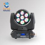 Redelijke Price voor 7*10W 4in1 RGBW LED Moving Head Beam Light Stage Moving Lighting met DMX512 voor DJ Club Party