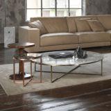 熱い販売の居間の家具の緩和されたガラスのコーヒーテーブル(NK-CTA001)