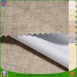 Tela tejida ignífuga impermeable de la cortina del poliester de la mezcla de la materia textil casera