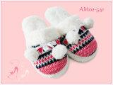 Neues Winter-warmes Karikatur-Kaninchen-beiläufige Schuh-Innenhefterzufuhren