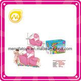 Piscina rosada del baloncesto del túnel de los niños con la bola del océano de 50 cm
