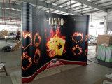 Messeen-Stand-Entwurf, magnetische Aluminiumbildschirmanzeige, knallen oben Hintergrund