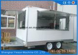 Camion mobile Van dell'alimento dell'acciaio inossidabile
