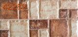 Azulejo de cerámica esmaltado al aire libre de la pared (42272)