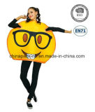 Emoji Funny Face Carnival Cartoon Party Costume pour les femmes (PGC70014X)