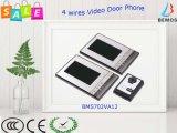 """One-Two verdrahtete videotür-Telefon mit 7 """" LCD dem Bildschirm"""
